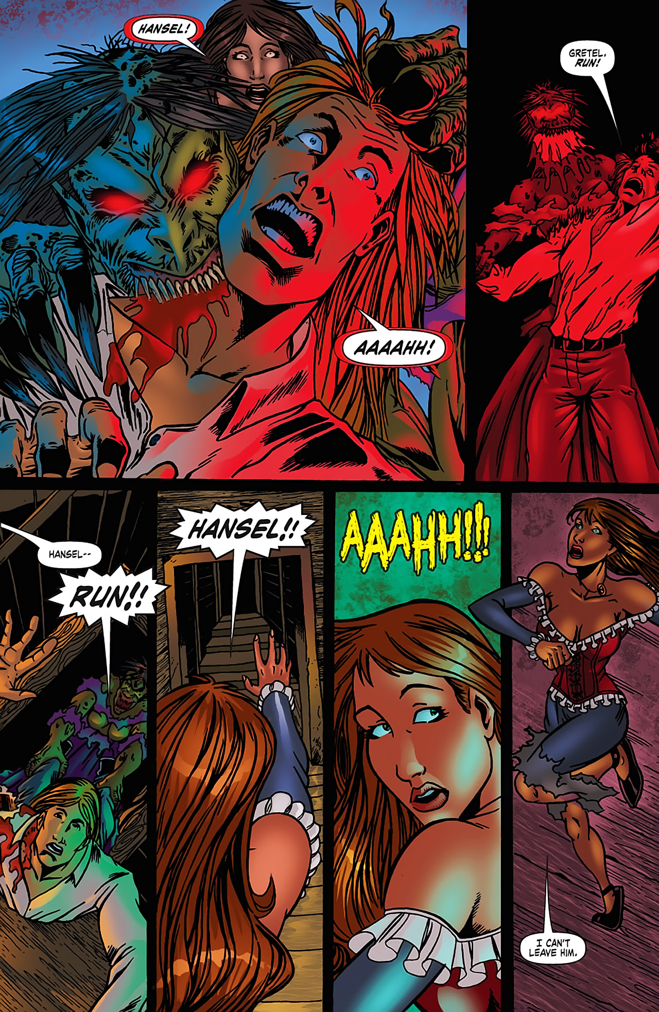 Grimm Fairy Tales (2005) Issue #3 #6 - English 23