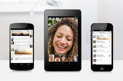 Google Hangouts for Android and iOS