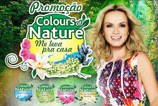 PROMOÇÃO COLOURS OF NATURE ME LEVA PRA CASA