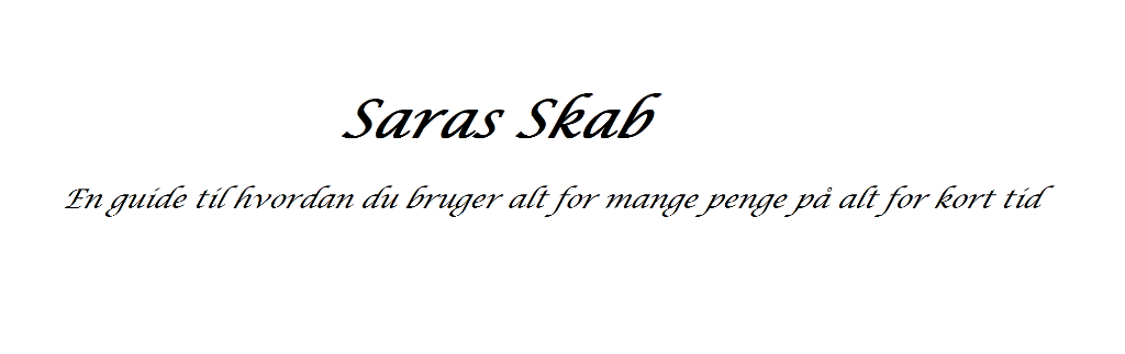 Saras Skab