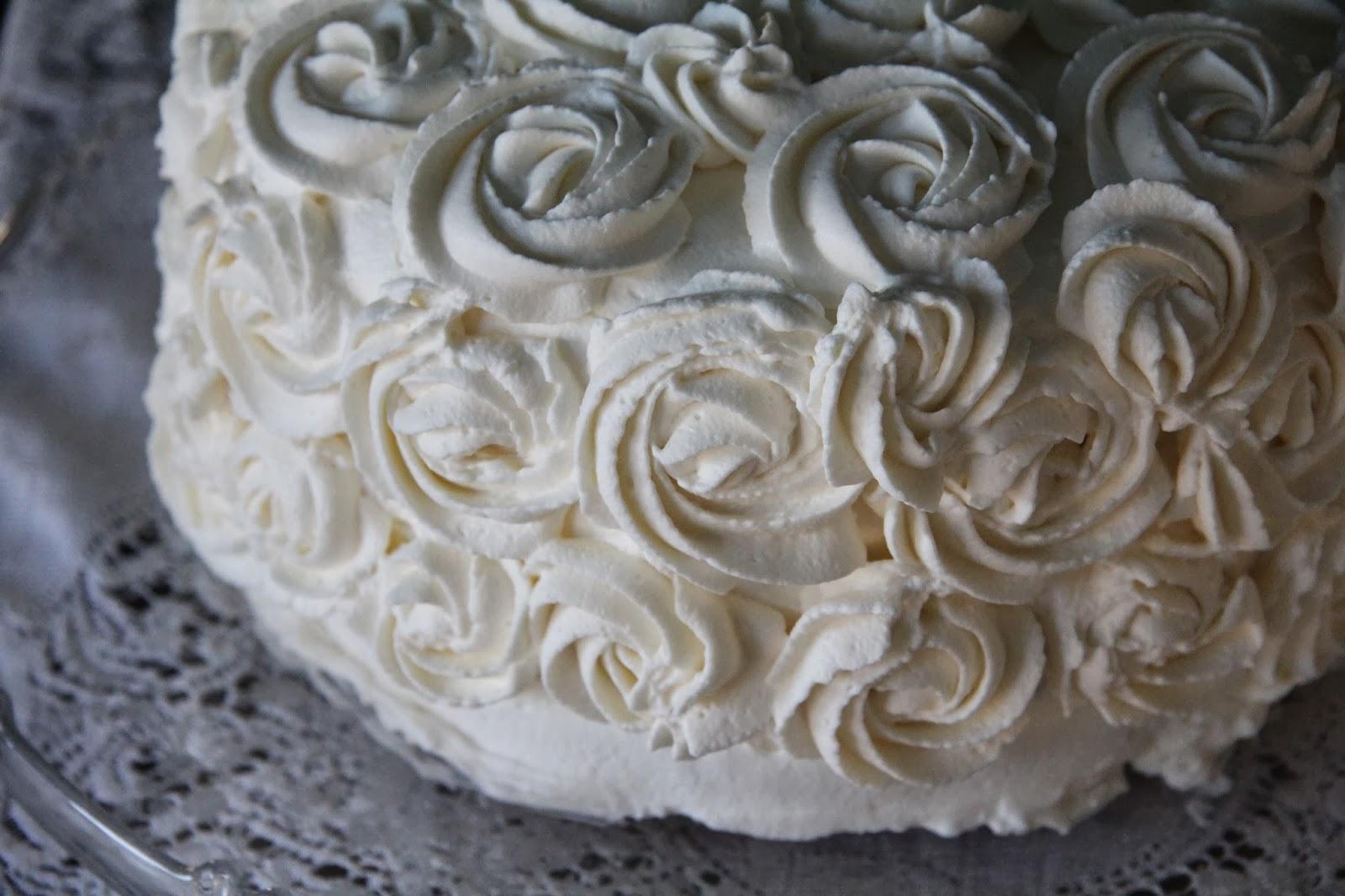 Rum Flavored Wedding Cake