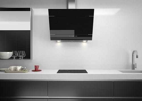 Electrodom sticos negros kansei cocinas servicio - Electrodomesticos de diseno ...