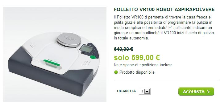 Casa immobiliare accessori opinioni folletto vr100 - Robot folletto vr200 opinioni ...