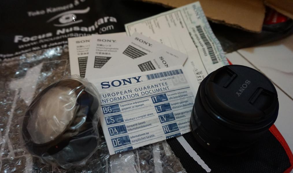 Paket pembelian SEL 35mm f/1.8 di focusnusantara.com