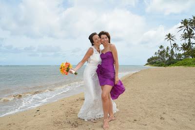 Bridesmaids in Hawaii
