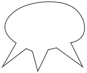 Balão de fala para mais de um personagem