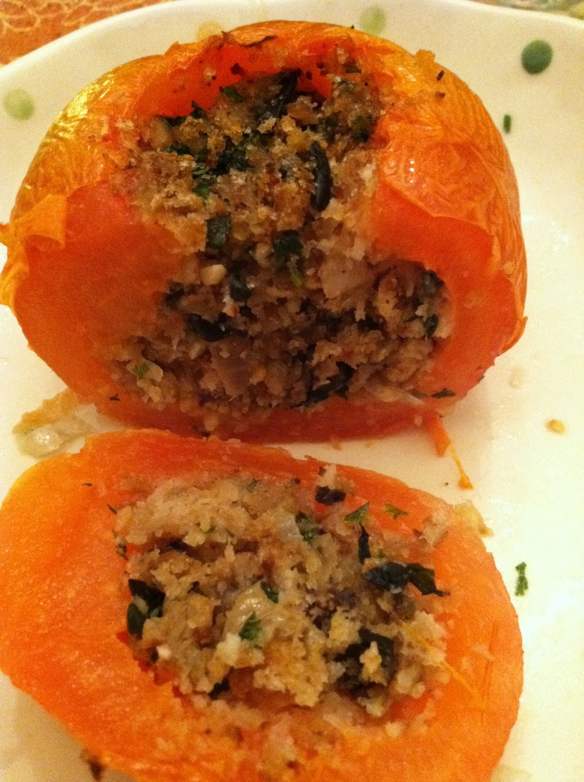 how to cook stuffed tomatoes