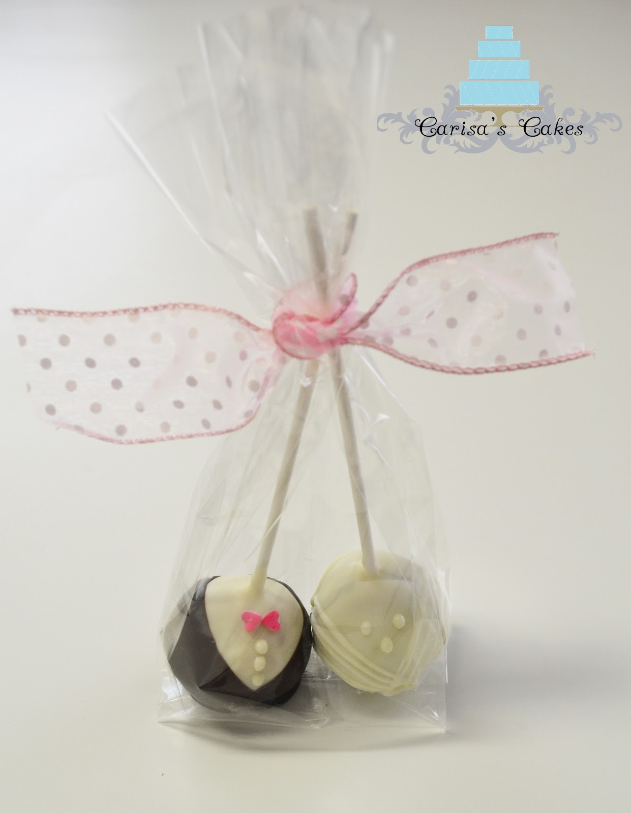 Carisa\'s Cakes: Introducing Cake Pops (Brides and Grooms)