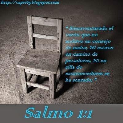SALMO DE LA SEMANA