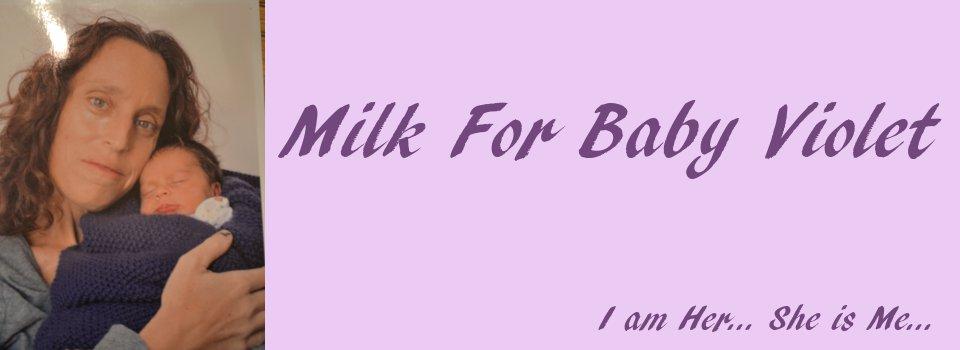 Milk For Baby Violet