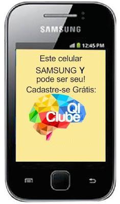 Super Sorteio de um Samsung Galaxy Y