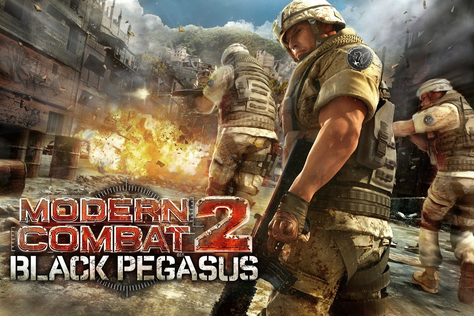 Modern Combat 2 Black Pagasus Full PC İndir