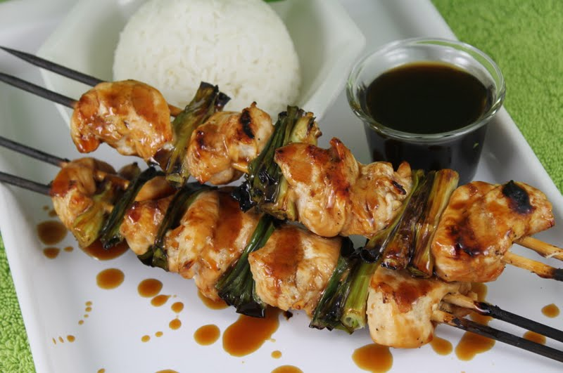 Japanese Grilled Chicken Yakitori With Tare Sauce The Caf Sucre