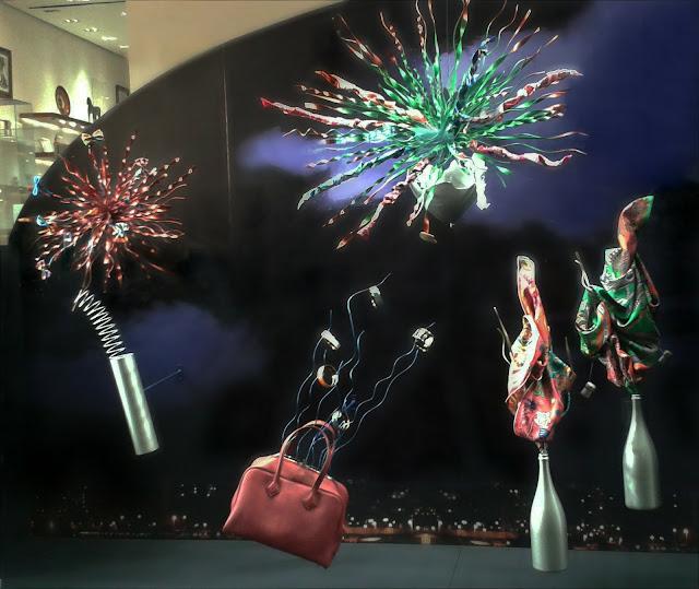 """""""Escaparate de Hermès en Barcelona """""""