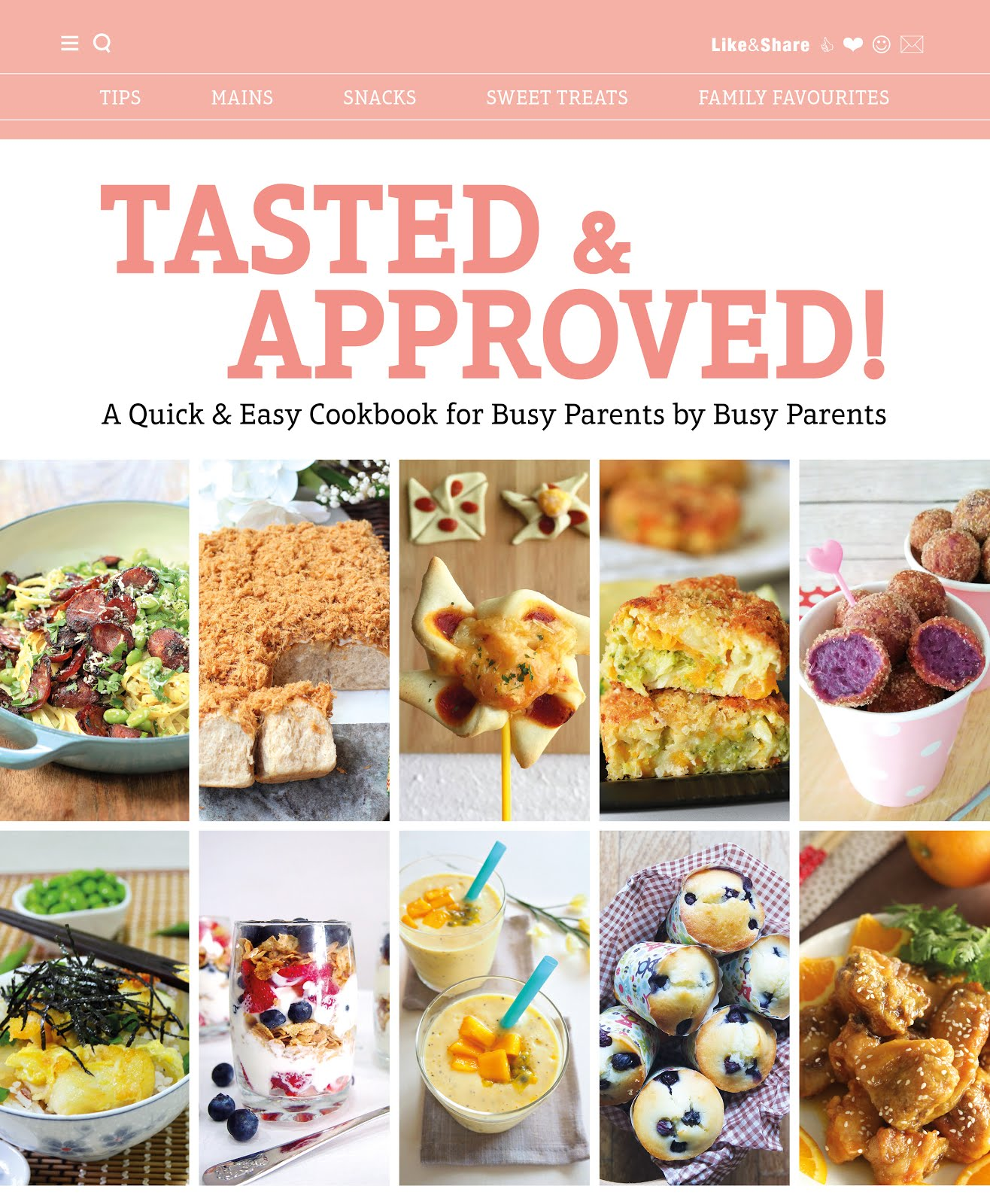 Tasted & Approved Cookbook (preorder now to enjoy 20% off)