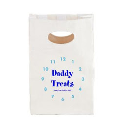 Daddy Treats Canvas Lunch Tote