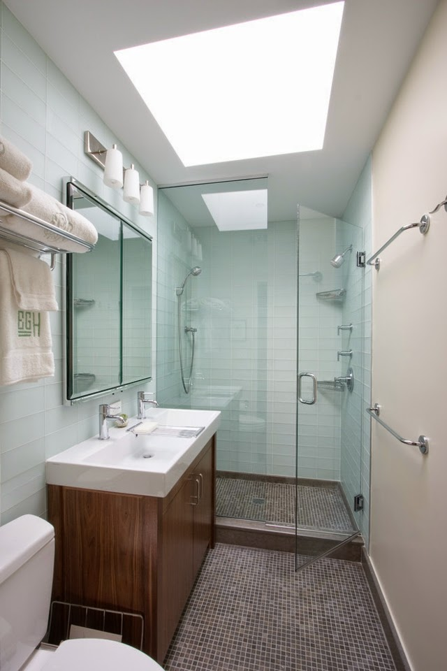 Attic Apartment Layout   The small bathroom is major challenge. Attic Apartment Layout  Special features of the bathroom designs