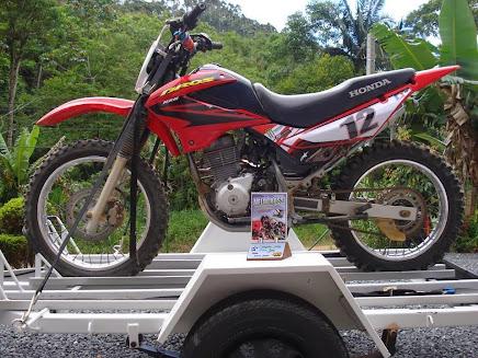 comandos para motos de veloterra ou velocros