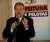 Prefeito de Pelotas Fetter Jr.