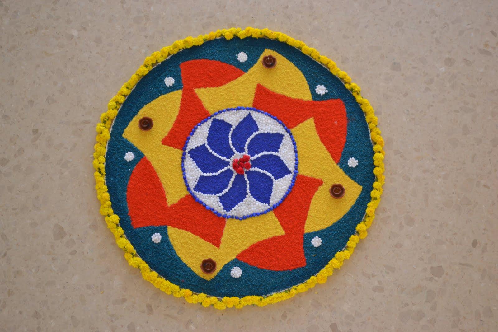Rangoli designs for Home rangoli designs