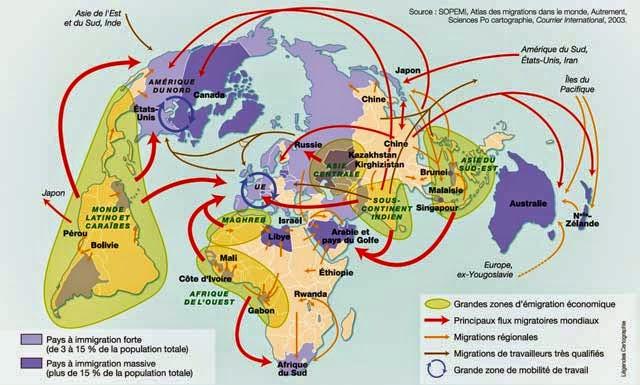 quels sont les espaces moteurs de la mondialisation dissertation • la mondialisation concerne à la fois les états et les entreprises transnationales (contrôle de l'exploitation des matières premières, recherche des débouchés externes par les exportations et les filiales à l'étranger, délocalisation pour bénéficier de coûts de production moindres.