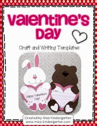 http://www.teacherspayteachers.com/Product/Valentines-Day-Craft-and-Writing-Templates-487360