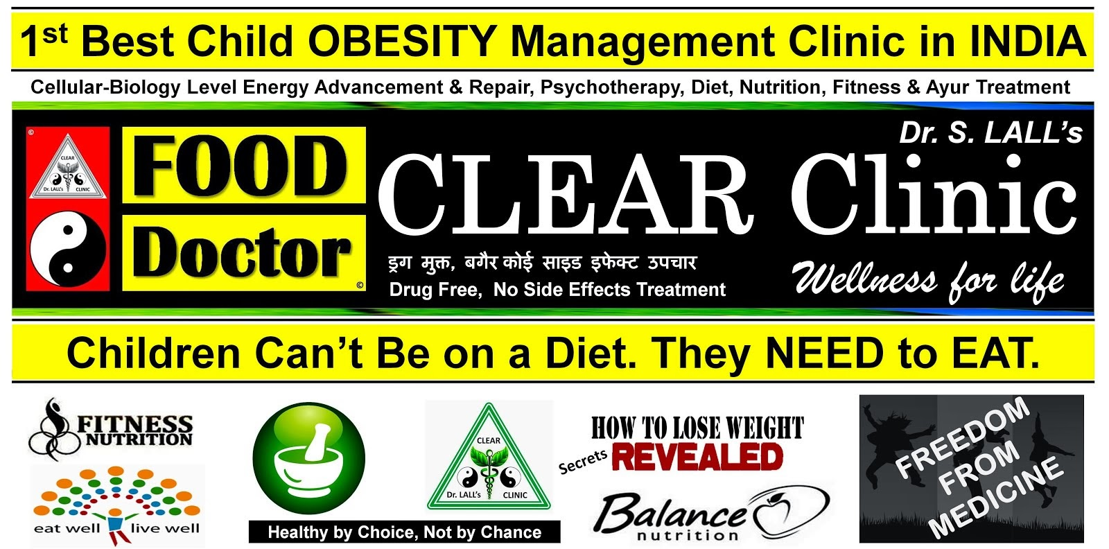 1st & BEST Child OBESITY Management Clinic in INDIA