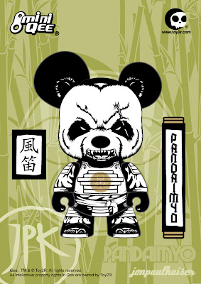 "Toy2R: Pandaimyo 5"" Mini Qee by Jon-Paul Kaiser"