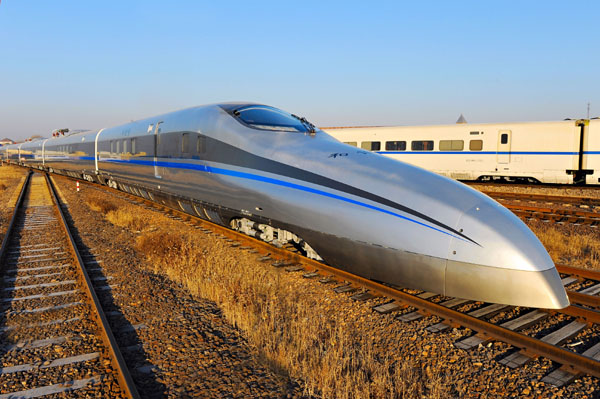 fastest train built in china