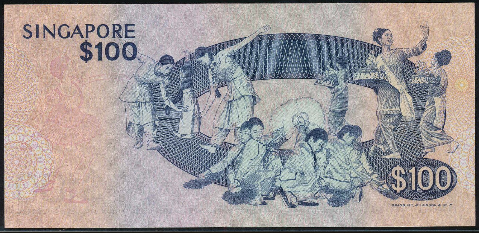 Singapore 100 Dollar note Bird Series