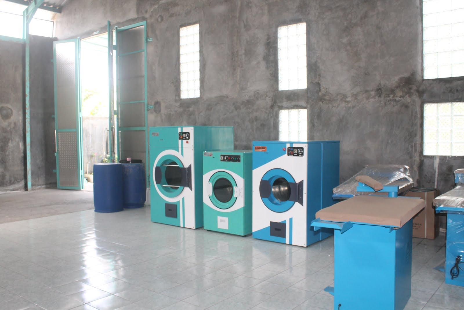 rigghen mesin alat pengering pakaian baju laundry hotel rumah sakit kiloan