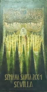 Cartel de la Semana Santa de Sevilla 2001