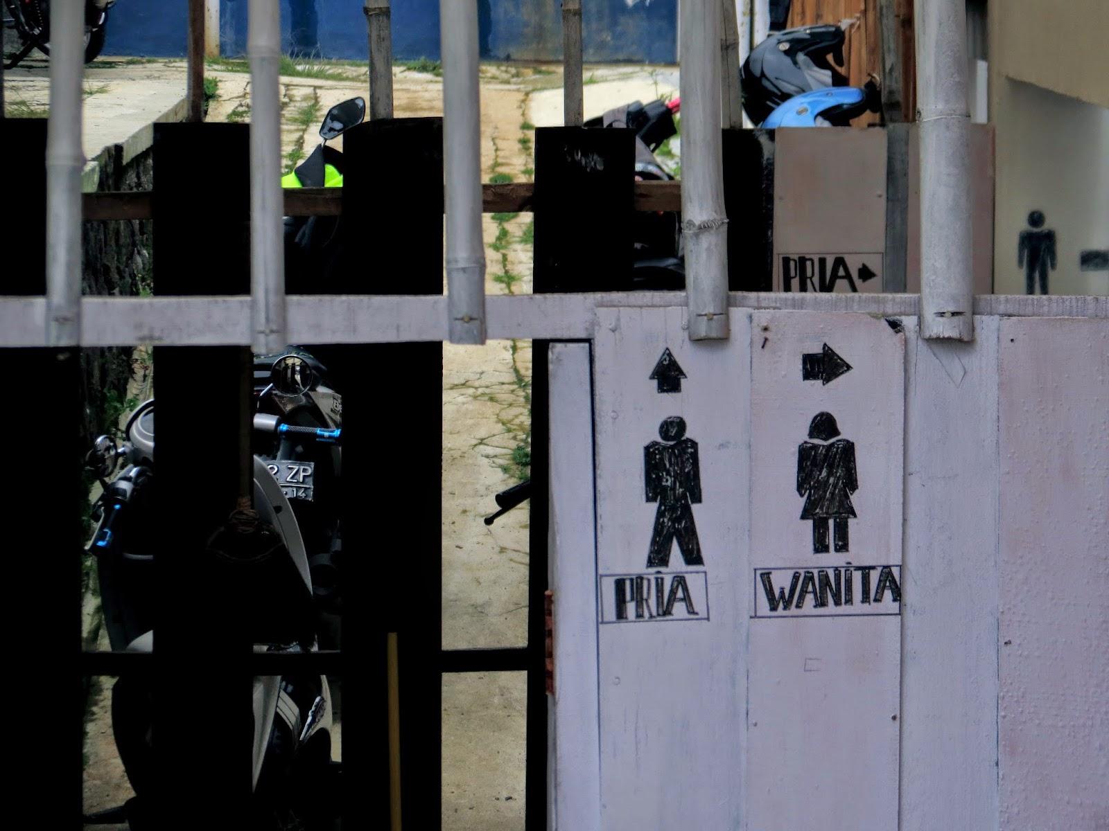 Bandung toilet