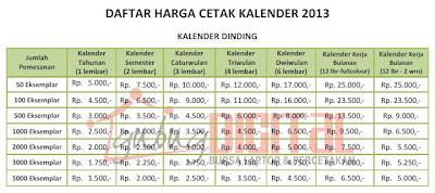 kalender 2013, design kalender 2013, kalender murah
