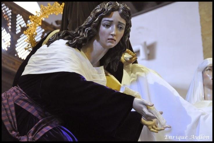 Misterio de Santa Marta Semana santa de Sevilla 2014 Luis Ortega Br