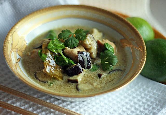 So Sweet So Spicy Kuchnia Tajska Zielone Curry Z Kurczaka