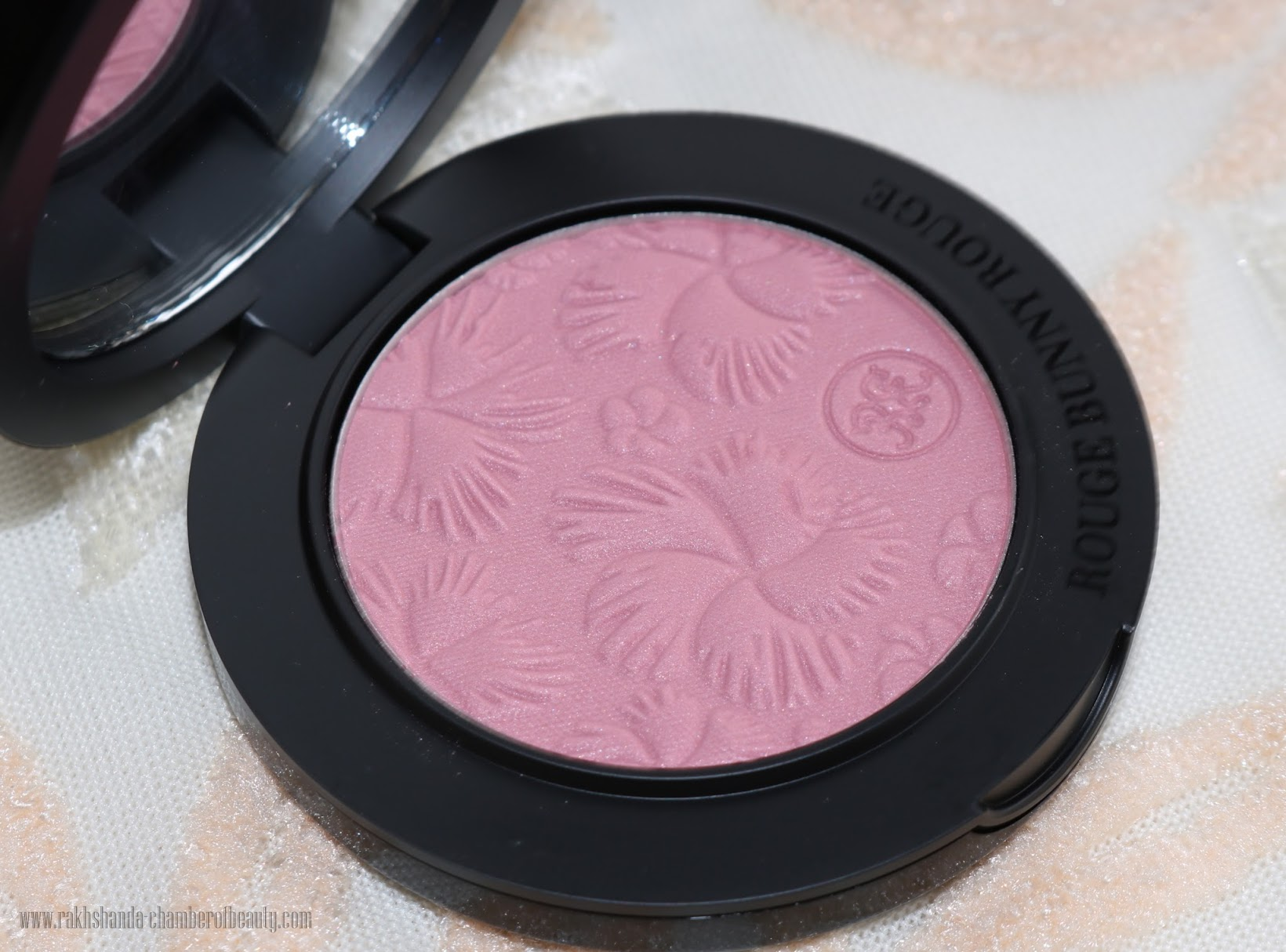 Rouge Bunny Rouge For The Love of Roses Original Skin blush- review, swatches & FOTD   New & Improved, Best luxury plum blush, Indian beauty blogger, Chamber of Beauty