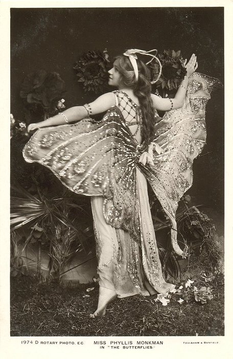 Phyllis Monkman butterflies