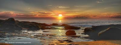 Couverture facebook coucher de soleil