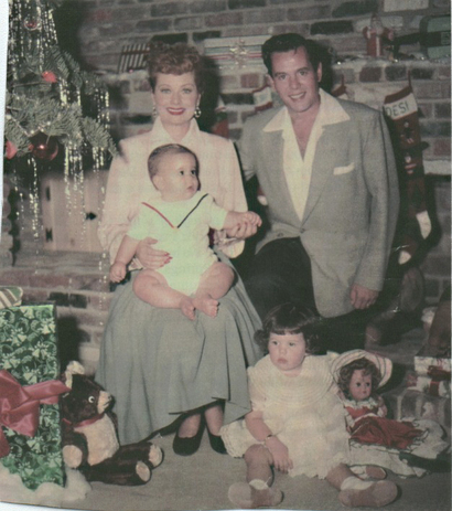 Lucy and Desi Arnaz Christmas