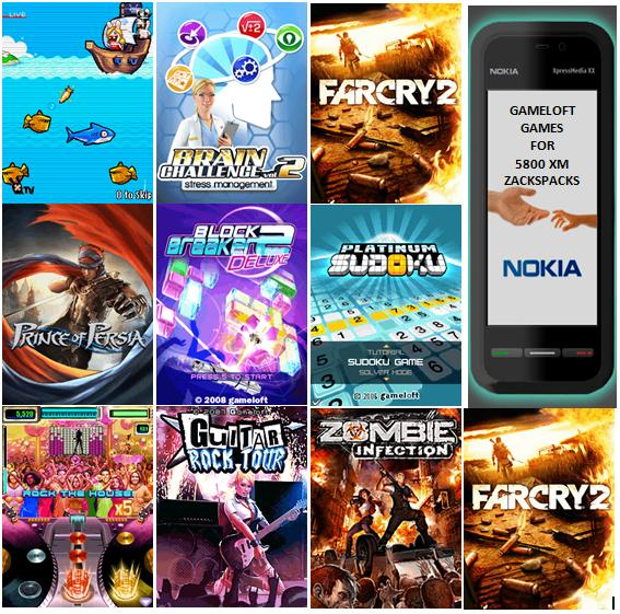mobile games free download for nokia e5