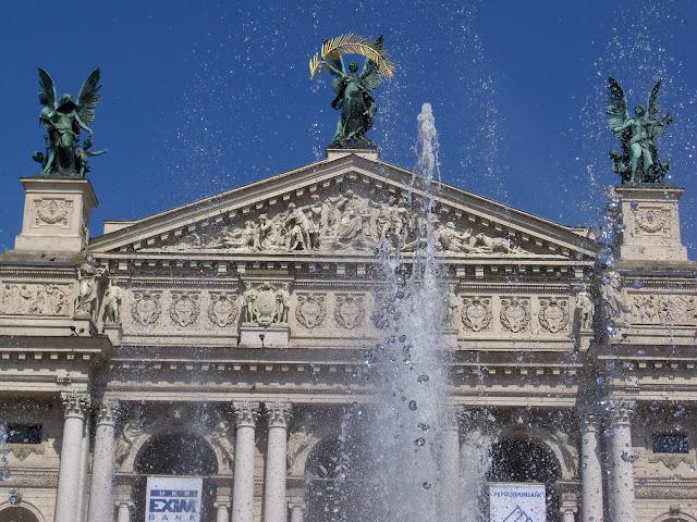 Lviv Opera House, Western Ukraine