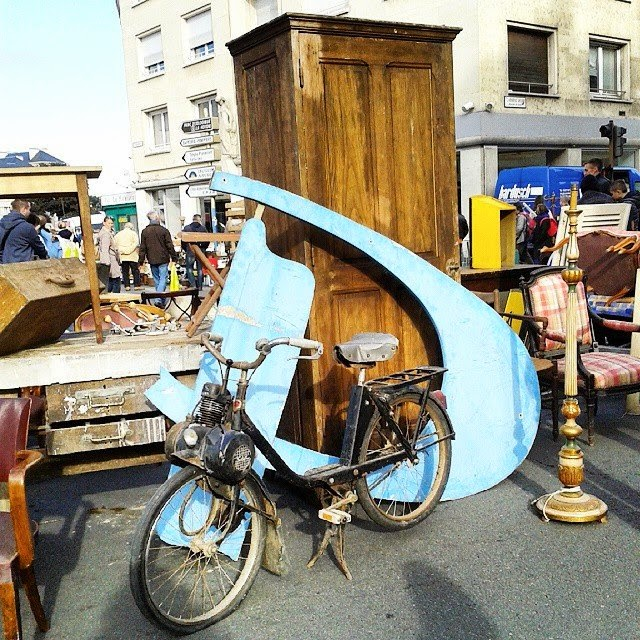 Brocante Amiens , octobre 2014 / Photos Atelier rue verte