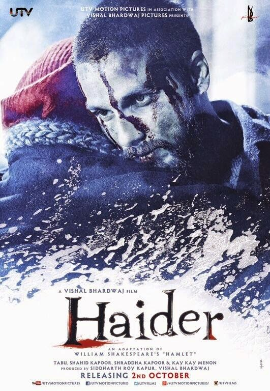 Watch Haider (2014) Non Retail DVDRip Hindi Full Movie Watch Online Free Download
