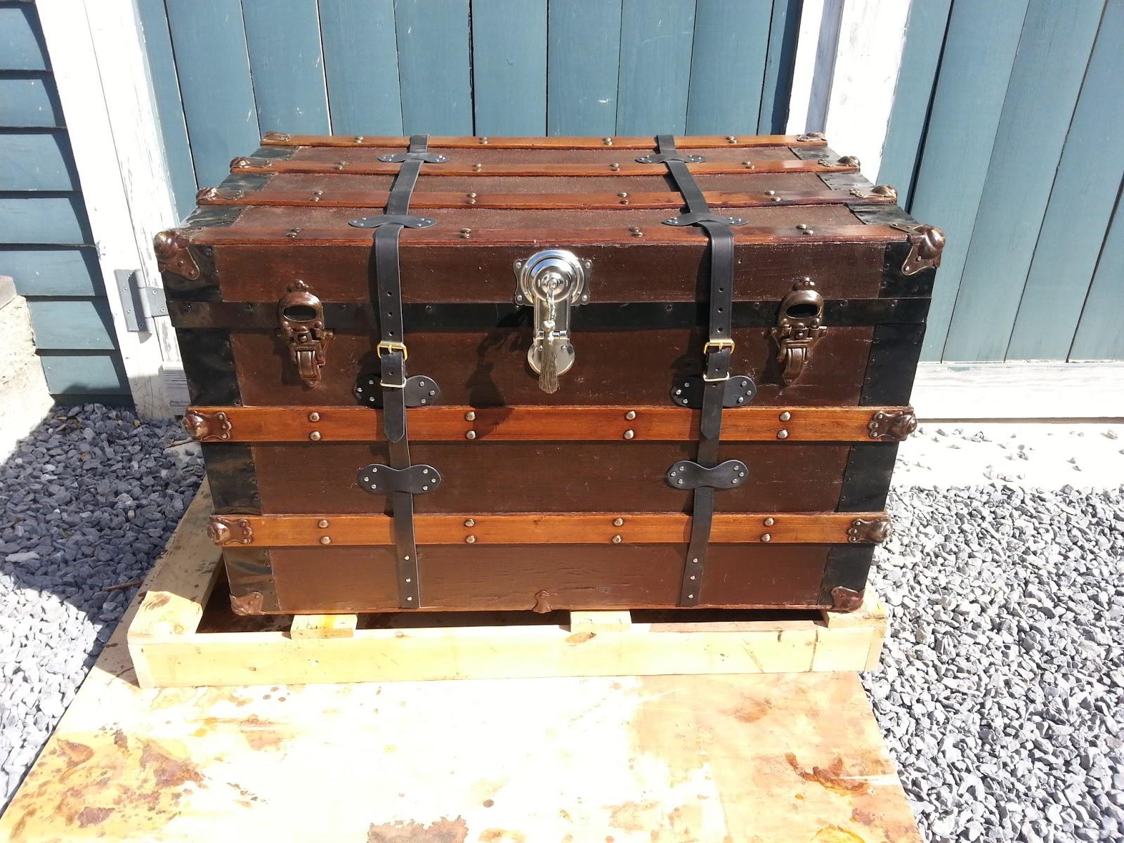 John Mark Power, Antiques Conservator: Steamer Trunk (ca