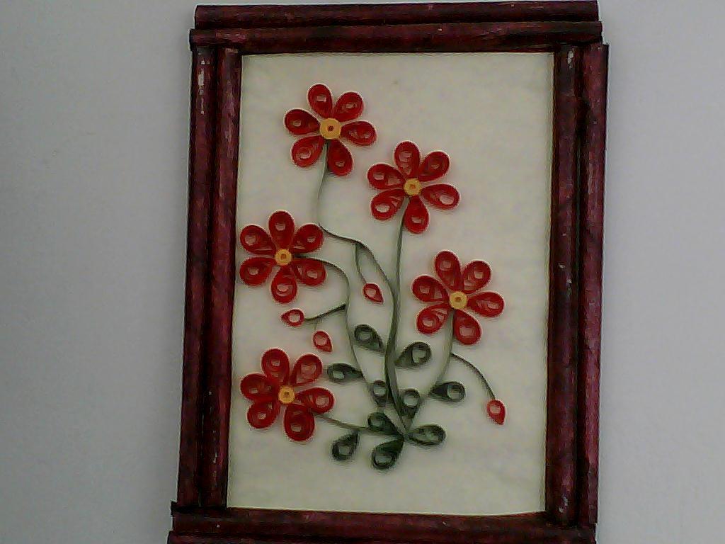 El rincon de las manualidades de sarita cuadros en filigrana - Manualidades faciles cuadros ...