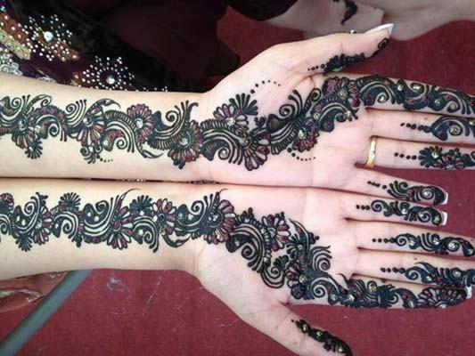 Mehendi Ceremony S Free Download : Bridal mehndi designs henna mehandi design pics