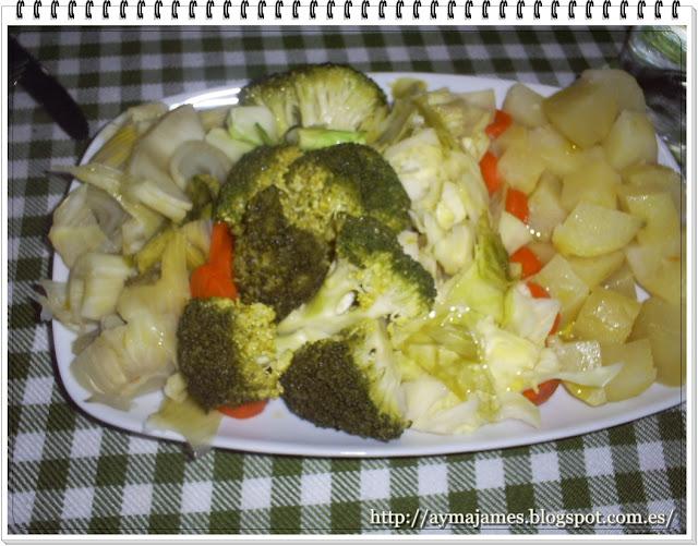 Aymajames verduras al vapor - Como cocinar verduras al vapor ...