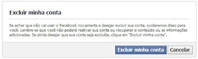 Just Delete Me - Excluindo uma conta no Facebook