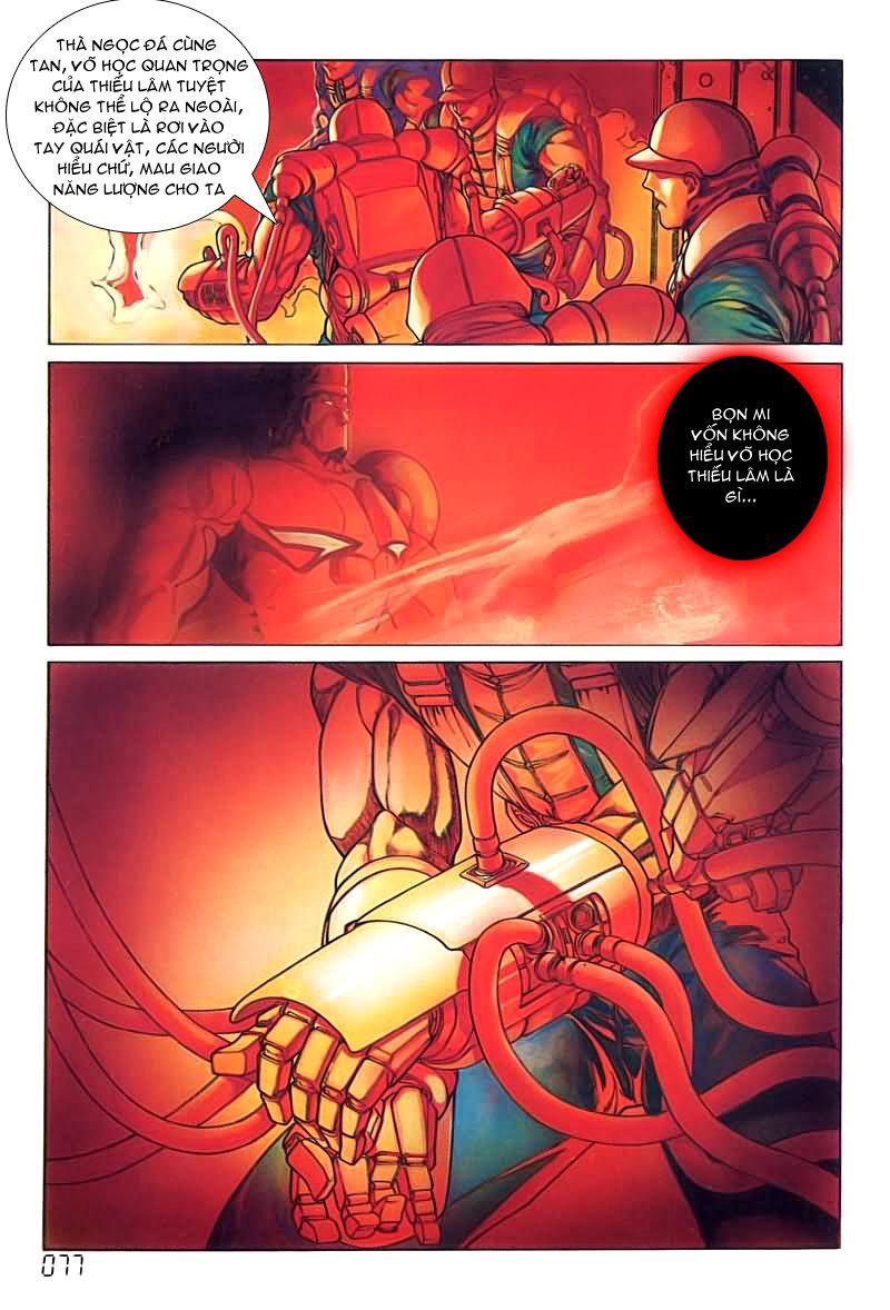 Cyber Weapon Z - Siêu Thần Z chap 4 - Trang 36